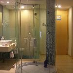 半开放式的卫浴设施