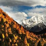 雅拉神山的秋日