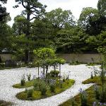 庐山寺庭院