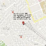 罗马凯旋门宾馆地图位置