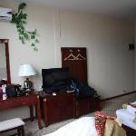 酒店房间内观