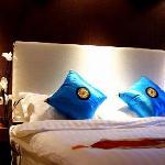 温馨舒适的豪华大床房