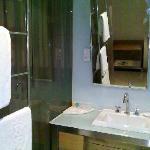 开放式洗手间