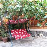 樱桃树和秋千