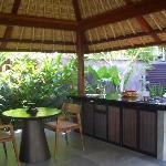 villa的开放式厨房