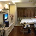 温馨典雅的酒店客房