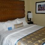 酒店的舒服大床