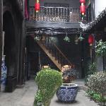 凤凰青稞古宅庭院客栈-天井