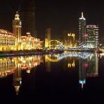 津湾广场夜景