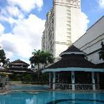 pool & main building