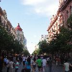 这条就是传说中亚洲最长的步行街——中央大街
