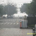 酒店对面就是长江