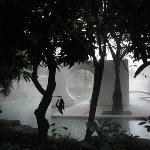 室外温泉池