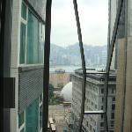 窗外维多利亚港