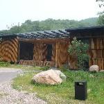 bamboo house,非常漂亮。