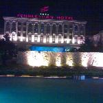 丰乐园的夜照