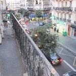 阳台外望街景3