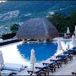酒店的泳池