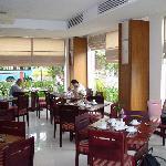 酒店里的餐厅