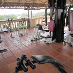 顶楼健身设施