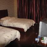 房间的床铺