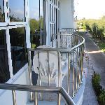 各个房间独立的小阳台