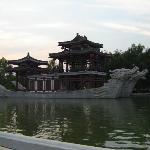 大唐芙蓉园内一景