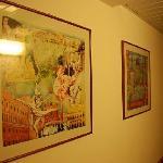 走廊里的画