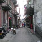 小巷里的绿杨旅社