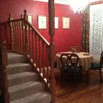 餐厅, 楼梯