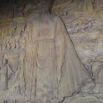 木雕包公像
