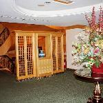 酒店楼层大厅