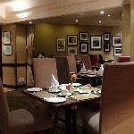 酒店的餐厅