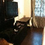 酒店房间-电视机