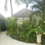 沙滩别墅区
