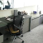 W Hong Kong; Oversized writing desk