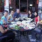 2011年的中秋节火锅饺子宴