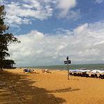 左边海滩,win7的背景之一