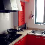 配置齐全的厨房