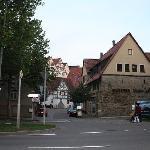 在herrenberg小镇