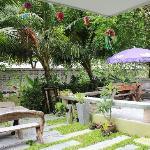 酒店后花园