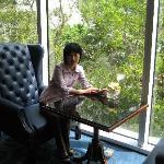 港岛香格里拉会议室外休息区 1