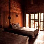 双人木屋别墅间