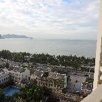 看得见海景的阳台
