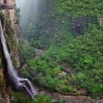 大峡谷瀑布