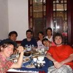 客人学习做中国菜