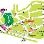 竹林饭店地图