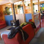 休息区,都系饭厅