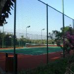 酒店网球场