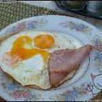 美式早餐,90B